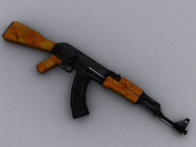 3DOcean AK47 Assault Rifle 667303