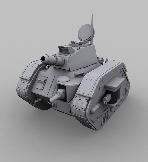 Leman Russ Tank  - 3DOcean Item for Sale