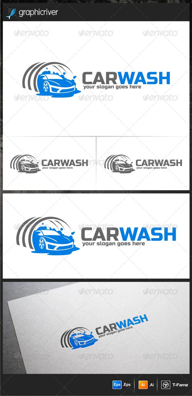GraphicRiver Car Wash Logo Templates 6400234