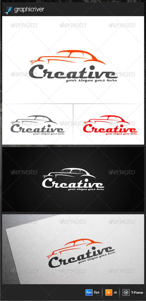 Creative Car Logo Templates - Objects Logo Templates