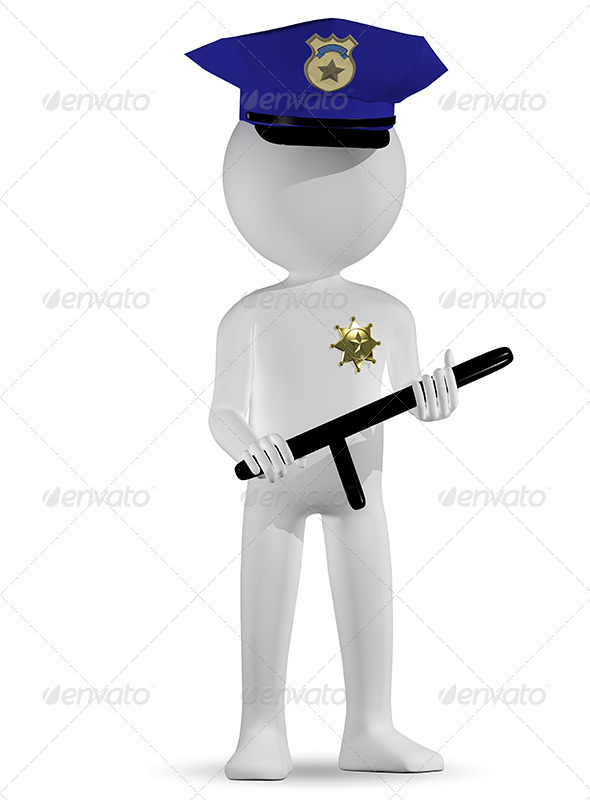 GraphicRiver Policeman 6400493