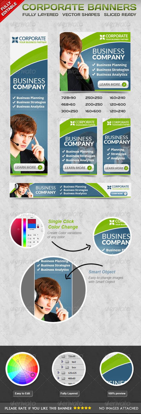 GraphicRiver Corporate Banner 6400590