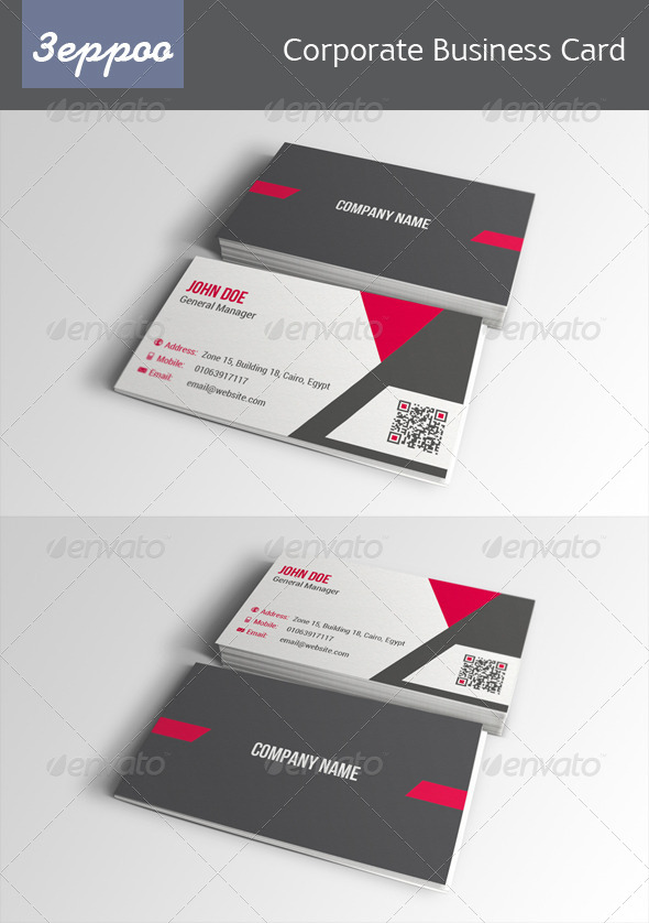 GraphicRiver Corporate Business Card 01 6400604