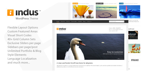Indus - Corporate Business WordPress Theme - ThemeForest
