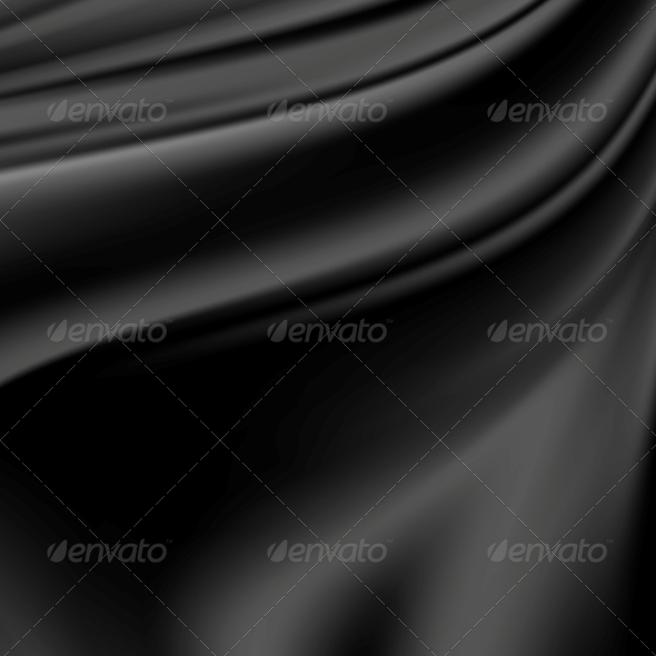 GraphicRiver Abstract Texture Black Silk 6401152
