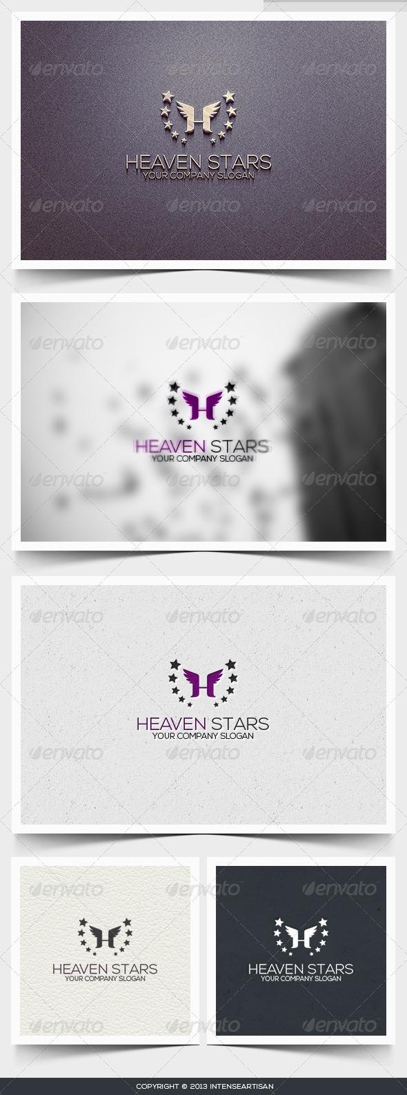 GraphicRiver Heaven Stars Logo Template 6401443