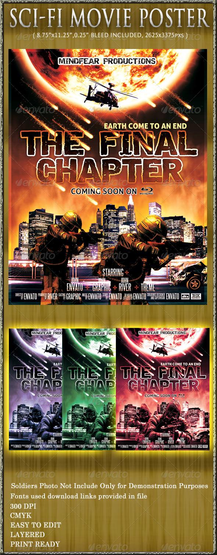 GraphicRiver Sci-Fi Movie Poster 573494