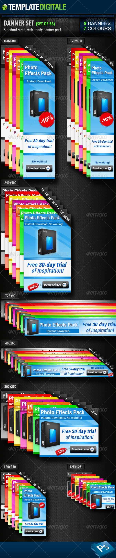 GraphicRiver 56 Banner Set 6401624