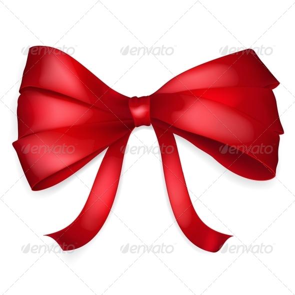 Red Bow - Decorative Symbols Decorative