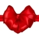 Red Bow Heart Shaped - GraphicRiver Item for Sale