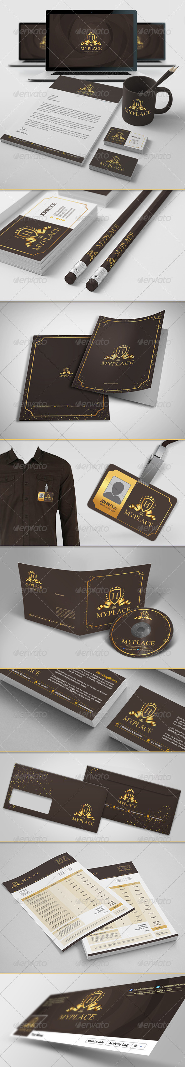 GraphicRiver Corporate Identity 6345514