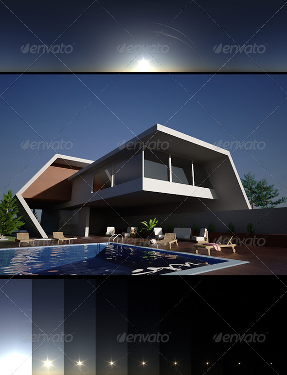 Realsky HDRI BlueClear 1548 - 3DOcean Item for Sale