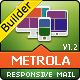 MetroLa-Metro Style Responsive Email With Builder - ThemeForest Item for Sale