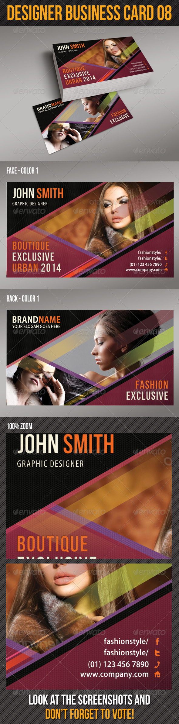 GraphicRiver Designer Business Card 09 6402226
