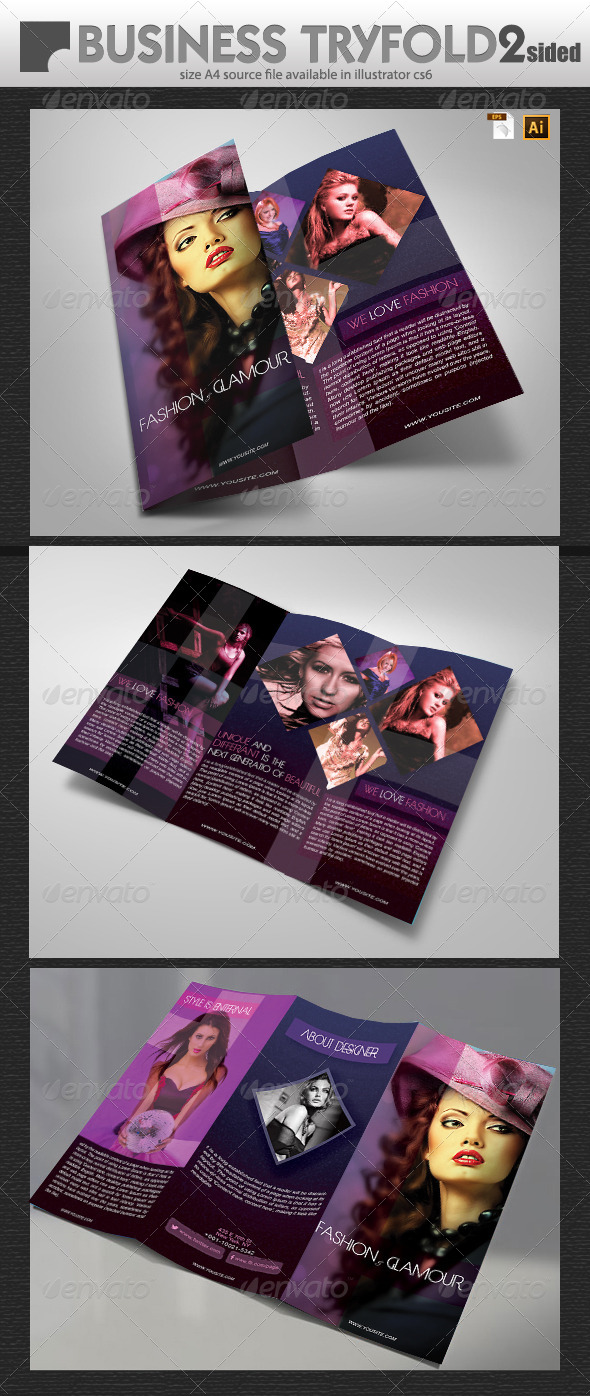 GraphicRiver Fashion Brochure Design 6402747
