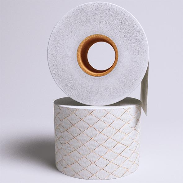 3DOcean Toilet Paper VrayC4D 6402796