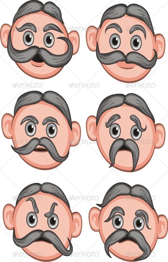 GraphicRiver Man Expression 6403383