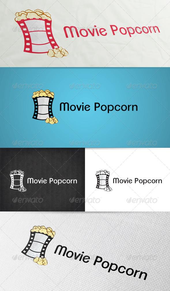 GraphicRiver Movie Popcorn Logo 6403390
