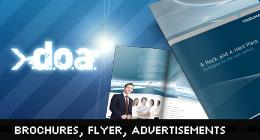 Brochures, Flyer, Advertisements