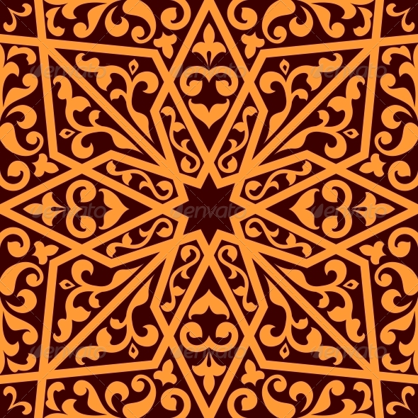 GraphicRiver Islamic or Arabic Seamless Pattern 6404293