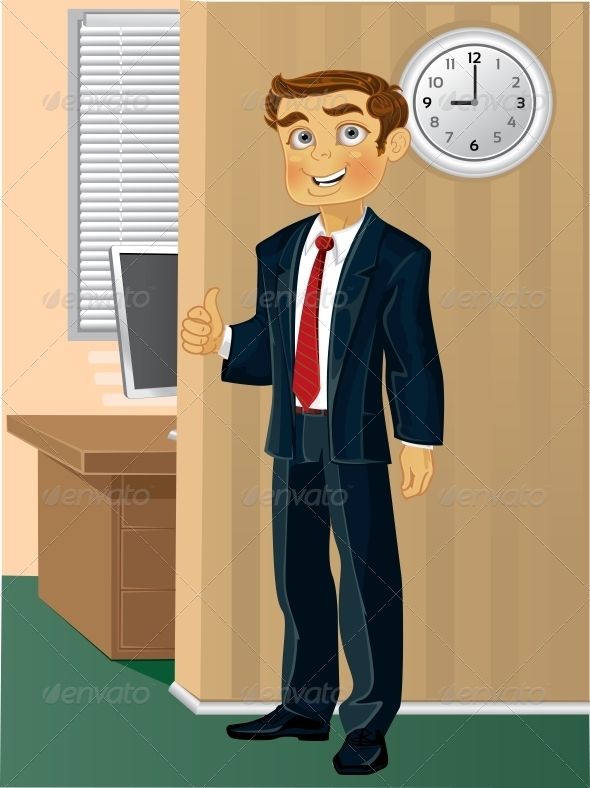 GraphicRiver Time Come to Work 6404350