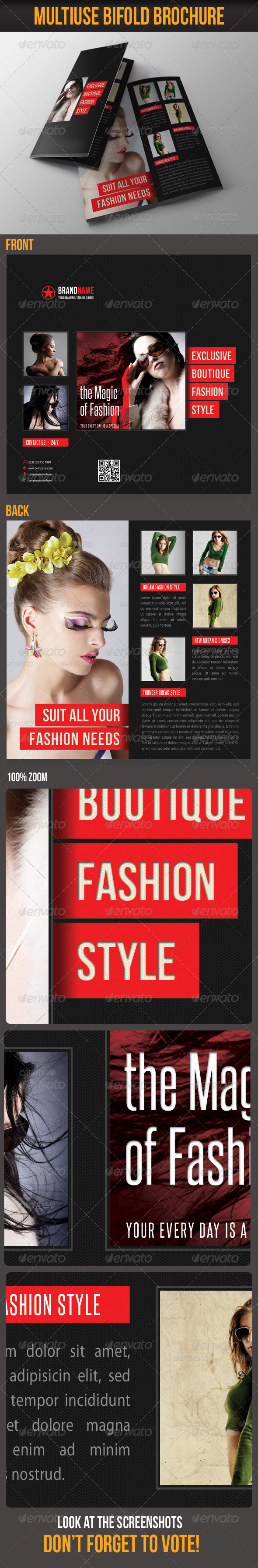 GraphicRiver Multiuse Bifold Brochure 35 6405164