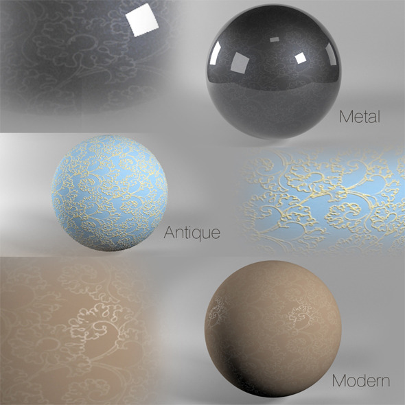 VRAY Tracery - 3DOcean Item for Sale