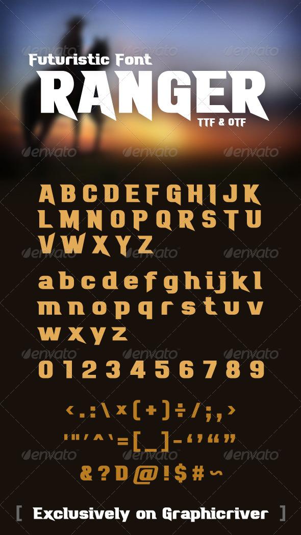 GraphicRiver Ranger Font 6405659
