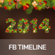 Facebook New Year 2014 Timeline - GraphicRiver Item for Sale