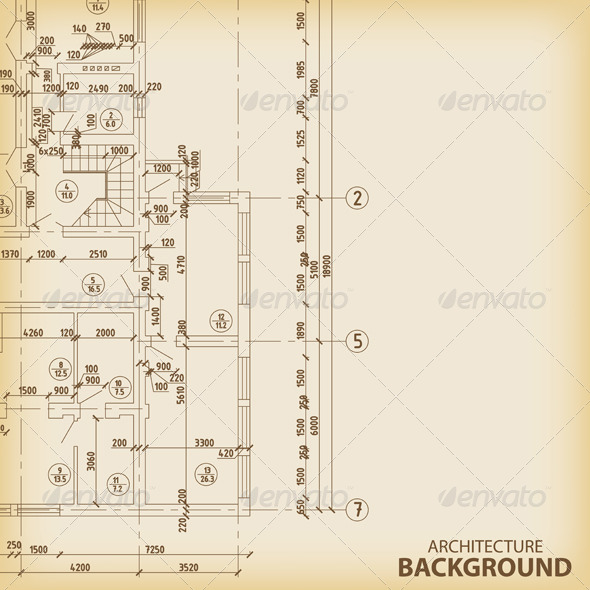 GraphicRiver Detailed Architectural Project 6406252
