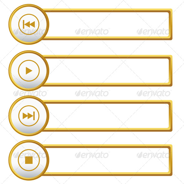 GraphicRiver Player Icons Set 6406259