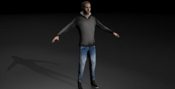 Amir Miles - 3DOcean Item for Sale