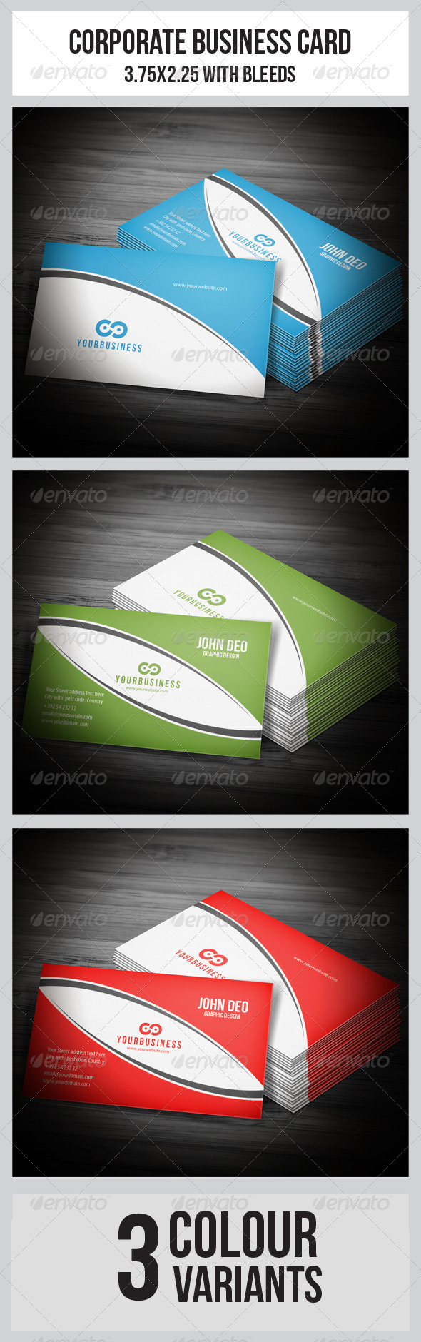 Multipurpose Business Card  - Corporate Business Cards