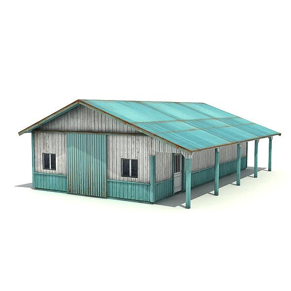 3DOcean Big Metal Warehouse 6407120