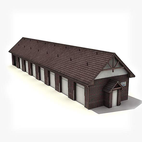 3DOcean Big Garage Warehouse 6407424