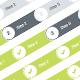 Flat Progress Tracker - GraphicRiver Item for Sale
