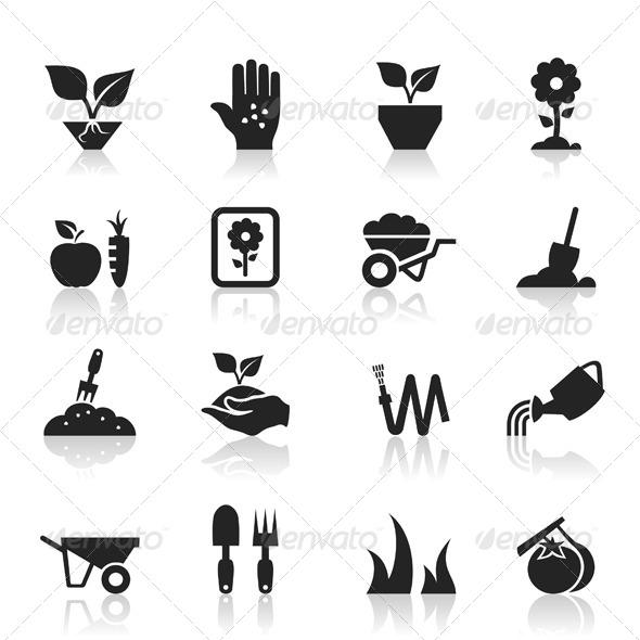GraphicRiver Garden an Icon 6407491