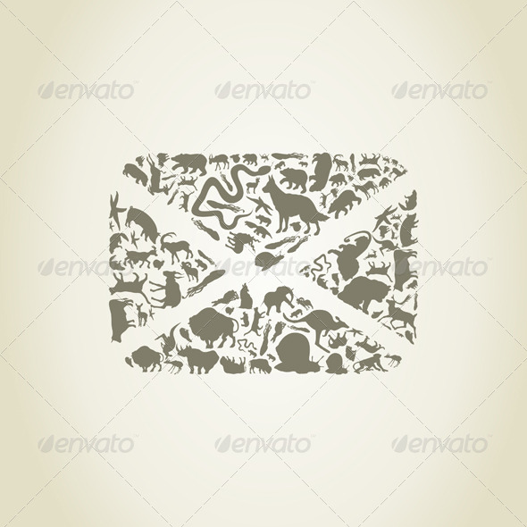 GraphicRiver Letter an Animal 6407509