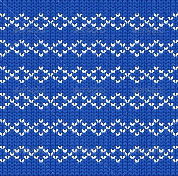 GraphicRiver Knitted Wool Vector Background 6408163