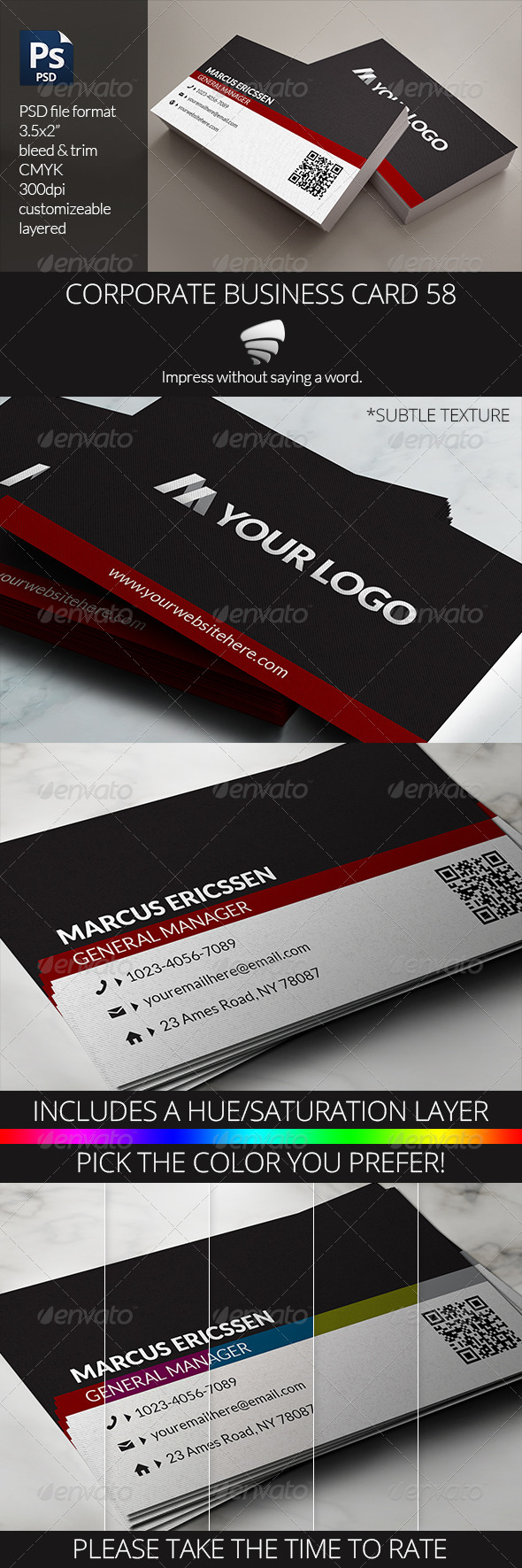 GraphicRiver Corporate Business Card 58 6408218