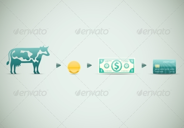 GraphicRiver Evolution of Money 6408254