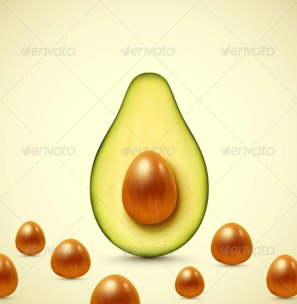 GraphicRiver Half an Avocado 6408258