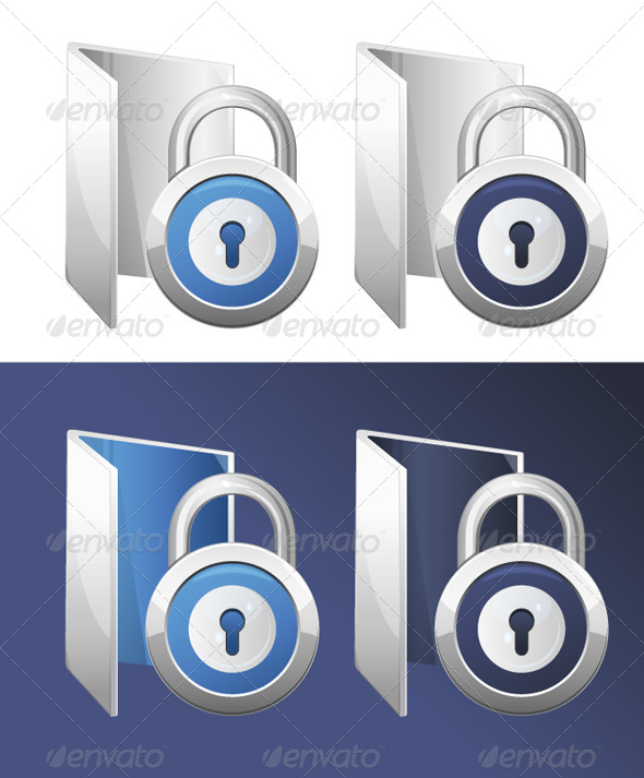 GraphicRiver Secure Folder Illustration 6408260