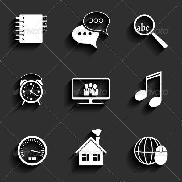 GraphicRiver Universal Flat Icons 6409626