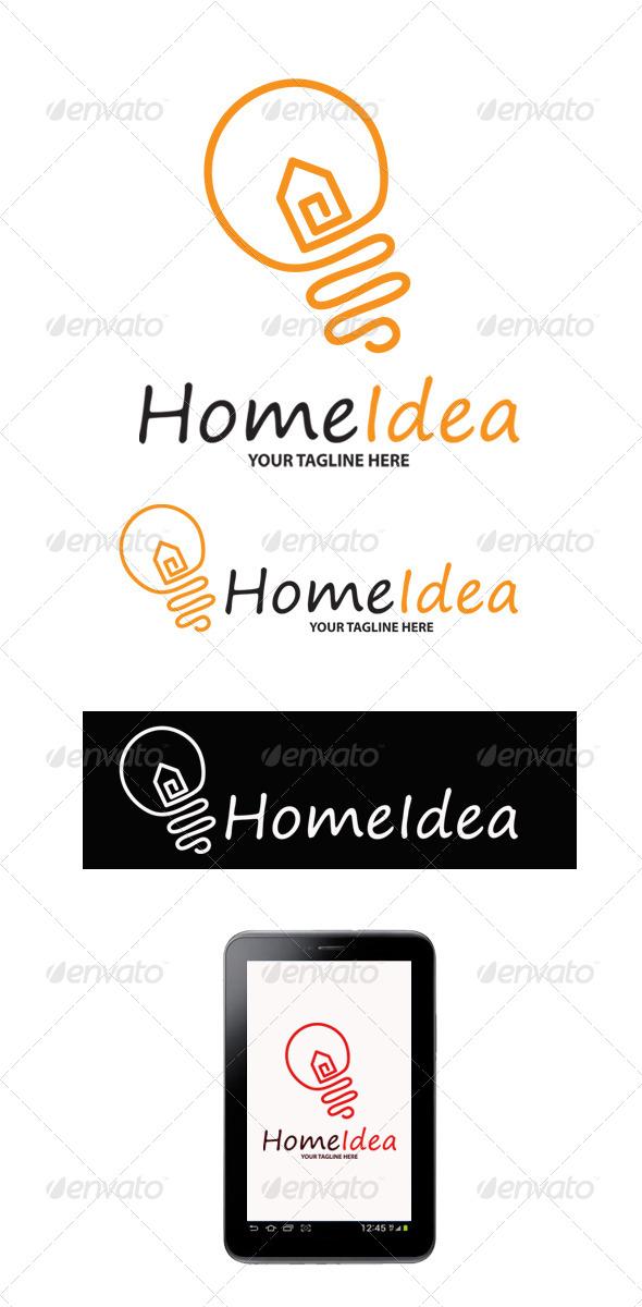 GraphicRiver Home Idea Logo 6409647