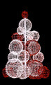 Christmas Tree of Lights  - PhotoDune Item for Sale