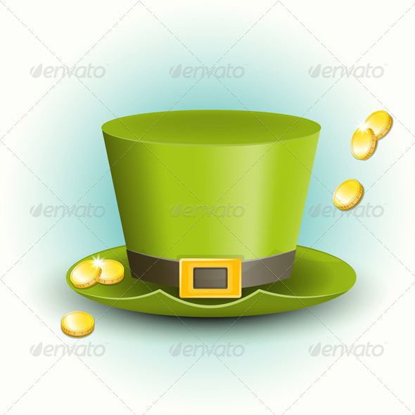 GraphicRiver St Patricks Day Hat 6410436
