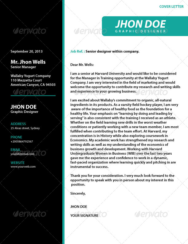 2 pages professional resume by kazierfan graphicriver