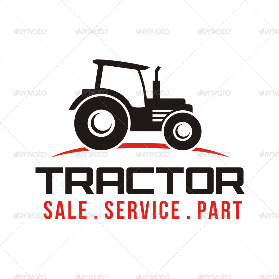 Tractor Logo By Seviart Graphicriver