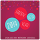 New Year 2014 Flyer / Poster 1 - GraphicRiver Item for Sale